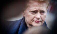 D. Grybauskaitė apie švietimo ministro istoriją: šitas spektaklis buvo visiškai nereikalingas