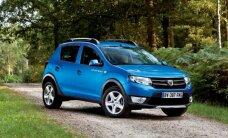"""""""Dacia"""" paskelbė, kiek Lietuvoje kainuos naujasis """"Sandero"""""""