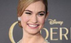Lily James: naujasis Holivudo grožio stebuklas
