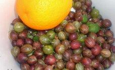 Šaldom žiemai: agrastai su apelsinais