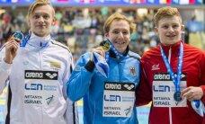 Stiprūs ir be R. Meilutytės: G. Titenis pasipuošė Europos čempionato medaliu