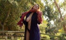 Rudens lygiadienį aktorė pasitiko pribloškiančia erotine fotosesija