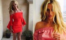 B. Spears stebina vis seksualesne figūra: parodė, kaip pasiekė tokį rezultatą