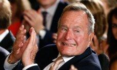 91 metų buvęs JAV prezidentas George`as H.W. Bushas paguldytas į ligoninę