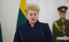 D. Grybauskaitė: ciniškas abejingumas atveria kelią smurtui
