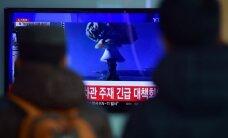 Dėl Šiaurės Korėjos veiksmų Japonija savo pajėgose paskelbė padidintą parengtį