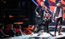 """Iš """"Eurovizijos"""" iškrito """"Rolikai"""", per plauką konkurse liko N. Šiaudikytė"""