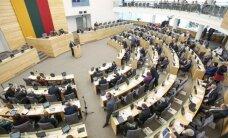 Seimas – prieš GPM paskirstymo tvarkos keitimą