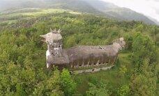 Pasaulis išprotėjo: bažnyčia vištos formos