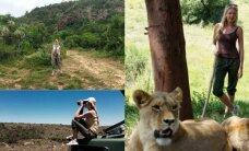 Afrikoje savanoriavusi S. Mykolaitytė vis dar nepamiršo termitų skonio ir agresyvių stručių