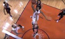 Žlugdantis dėjimas per J. Valančiūną – vienas gražiausių NBA nakties momentų