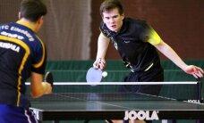 Europos pirmenybėse Lietuvos vyrų stalo teniso rinktinė nugalėjo Turkiją
