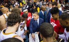 """NBA: trenerį pakeitęs """"Cavs"""" suklupo, K. Porzingis žaidė naudingai"""