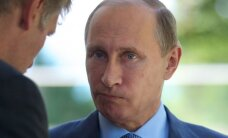 Protestų prieš V. Putiną dalyviai siunčiami už grotų