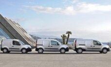 """""""Renault"""" plečia lengvųjų komercinių automobilių gamą"""