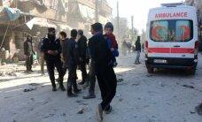 Iš Sirijos plūstelėjo didžiulė minia pabėgėlių