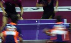 Lietuvos stalo tenisininkai nepateko į turnyro Kroatijoje šešioliktfinalį