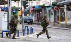 Makedonijoje per susirėmimus su ginkluota grupuote žuvo šeši policininkai