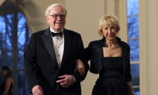 Warrenas Buffettas su žmona Astrid