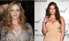 Christina Rene Hendricks ir Ashley Graham