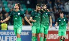 Slovėnijos rinktinės futbolininkai