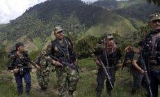 FARC kovotojai