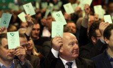 Valstiečių ir žaliųjų sąjungos suvažiavimas