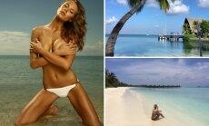 Simona Starkutė atostogavo Maldyvuose
