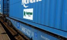 Pirmasis konteinerinis traukinys