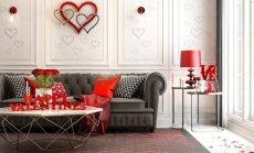Lengvai įgyvendinamos idėjos, kaip į namus įnešti Valentino dienos nuotaiką