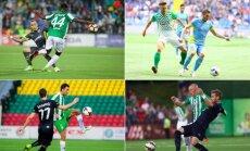 Žalgirio bandymai Čempionų lygoje: prieš Ludogorec, Astana, Malmo ir Dinamo