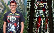 Aleksandras Pogrebnojus, Šv. Jurgio vitražas