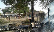 Nigerijos karo lėktuvas per klaidą atakavo perkeltųjų asmenų stovyklą