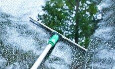 10 patarimų, kaip valyti langus, kad jie švytėtų