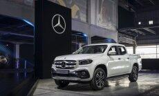 Pristatytas naujasis pikapas Mercedes-Benz X