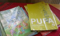 School books of the Lithuanian language