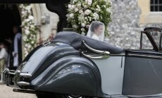 Pippa Middleton atvyko į vestuves