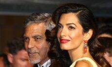 A. ir G. Clooney