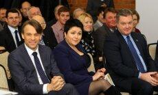 Edis Urbanavičius, Daina Gudzinevičiūtė ir Valentinas Paketūras (A. Ališausko nuotr.)