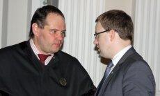Advokatas Saulius Juzukonis ir Vytautas Gapšys