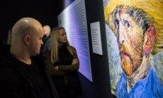 Domino teatro aktoriai Van Gogho parodoje