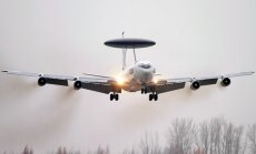 AWACS airplain Boeing E-3A Sentry