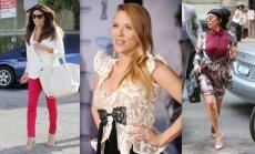 Eva Longoria (nuotr. AOP), Scarlett Johansson (nuotr. AOP), Lady Gaga (nuotr. AOP).