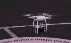 Įvyko pirmasis prekės pristatymas dronu Lietuvoje