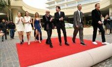 Sophia Rose Stallon, Sistine Rose Stallone, Scarlet Rose Stallone, Lorenzo Soria, Jimmy Fallon, Allen Shapiro ir Barry Adelman