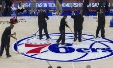 Rungtynės tarp 76ers ir Kings neįvyko