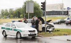 Vilniuje šiurpi avarija užkišo gatvę