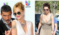 Melanie Griffith, Antonio Banderasas ir Britney Spears
