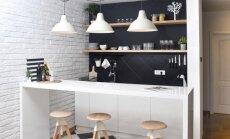 Maža virtuvė – ne bėda! Patarimai, kaip tinkamai išnaudoti erdvę