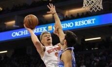 Mindaugas Kuzminskas, NBA, New York Knicks